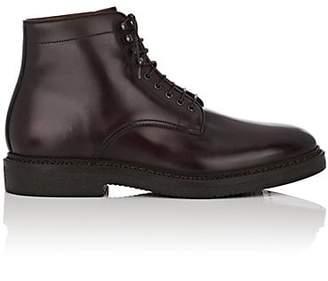 Franceschetti Men's Leather Lace-Up Boots - Dk. brown