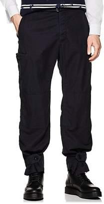 Sacai Men's Cotton-Blend Canvas Belted Cargo Pants