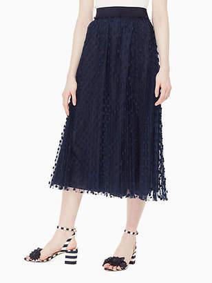 Kate Spade Polka dot jeanice skirt