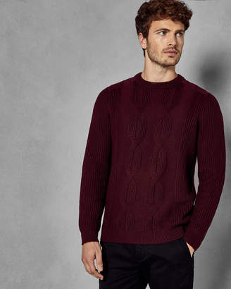 Ted Baker LAICHI Cable knit sweater