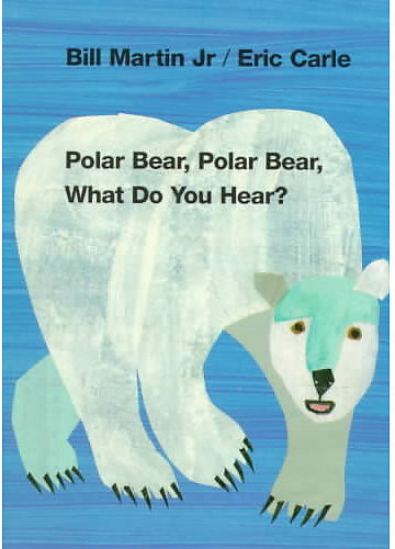 Henry Holt & Co Polar Bear Polar Bear What Do You Hear?