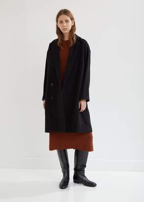 Pas De Calais Alpaca Wool Cocoon Coat