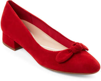 Easy Spirit Red Calasee Low Heel Shoes
