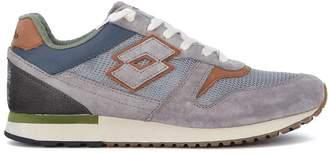 Lotto Leggenda Sneaker Tokyo Ginza In Grey Mesh And Leather