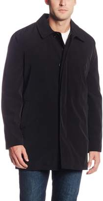 Hart Schaffner Marx Men's Concord All Weather Raincoat with Zip Out Liner