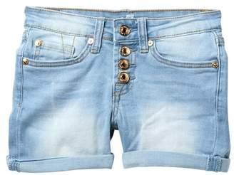 """7 For All Mankind 3\"""" Roll Cuff Shorts (Big Girls)"""
