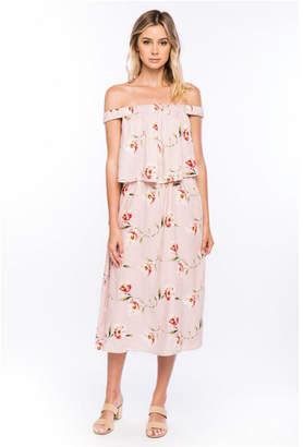 Olivia Pratt Off the Shoulder Floral Dress
