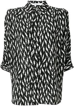 Givenchy lightening bolt shirt