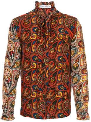 J.W.Anderson paisley-print shirt