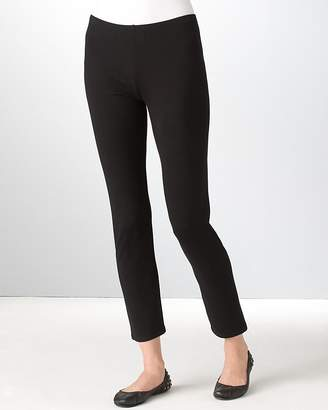 Eileen Fisher Petites' Stretch Organic Cotton Leggings $88 thestylecure.com
