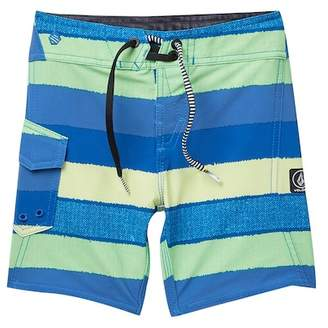 Volcom Magnetic Liney Mod Board Shorts (Toddler & Little Boys)