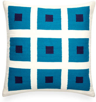 Jonathan Adler Reversible Turquoise Peter Pop Throw Pillow