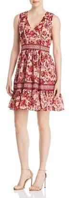Kate Spade Paisley Blossom Ruffle Dress