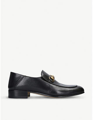 Gucci Mister leather loafers