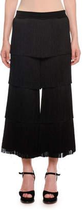 Missoni Allover Fringe Cropped Pants