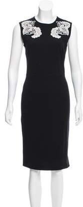 Stella McCartney Embroidered Sleeveless Dress