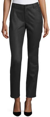 Lafayette 148 New York Thompson Waxed Denim Jeans