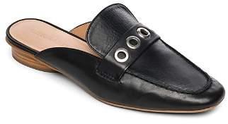 Bernardo Jen Grommet Leather Mules