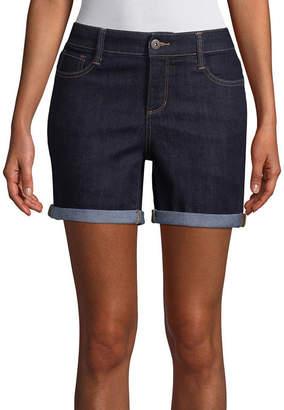 ST. JOHN'S BAY 5 Denim Shorts