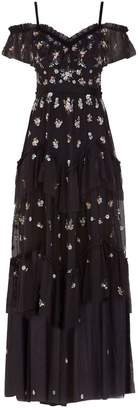 Needle & Thread Lustre Cami Cold Shoulder Gown