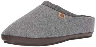 Freewaters Men's Jeffrey House Shoe Slipper w/Happy Arch Support and Durable Indoor/Outdoor Sole
