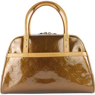 Louis Vuitton Vintage Brown Patent leather Handbag 0d361132b473c