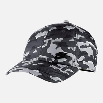 Nike Unisex Sportswear Heritage86 Metal Logo Adjustable Hat