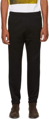 DSQUARED2 Black Jersey Jogger Sweatpants