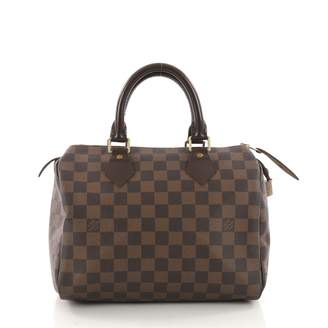 Louis Vuitton Speedy cloth handbag