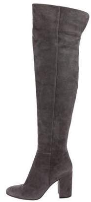 Gianvito Rossi Rolling High Over-The-Knee Boots
