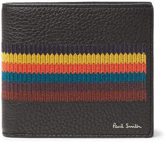 Paul Smith Webbing-Trimmed Full-Grain Leather Billfold Wallet