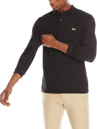 Lacoste Men's Long Sleeve Classic L.12.12 Original Piqué Polo Shirt