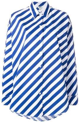 Kenzo boxy striped shirt
