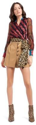 Alice + Olivia Tomasa Cuffed Shorts