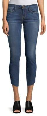 Frame Tulip Cropped Skinny Jeans