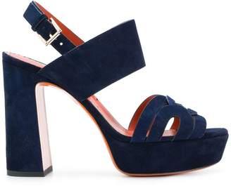 Santoni platform sandals