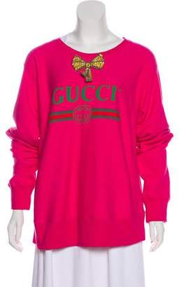 Gucci 2017 Embellished Sweatshirt