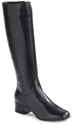 Aquatalia Larkin Leather Tall Boots