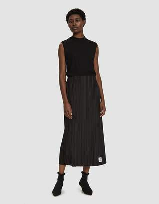 Aalto Pleated Midi Skirt