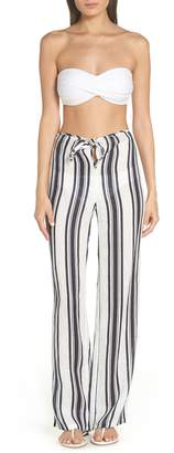 Tory Burch Awning Stripe Beach Pants