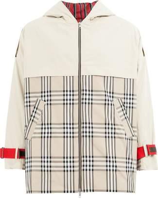 Andrea Crews checkered coat