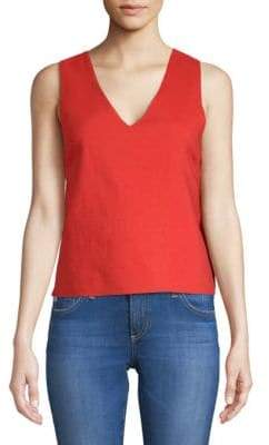 Moon River Bow Cut-Out Top