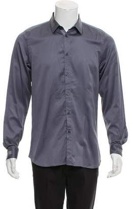 Calvin Klein Collection Woven Button-Up Dress Shirt