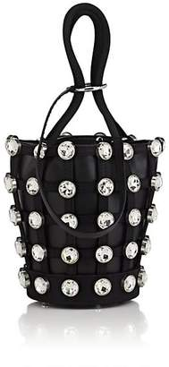 Alexander Wang Women's Roxy Mini Caged Bucket Bag - Silver