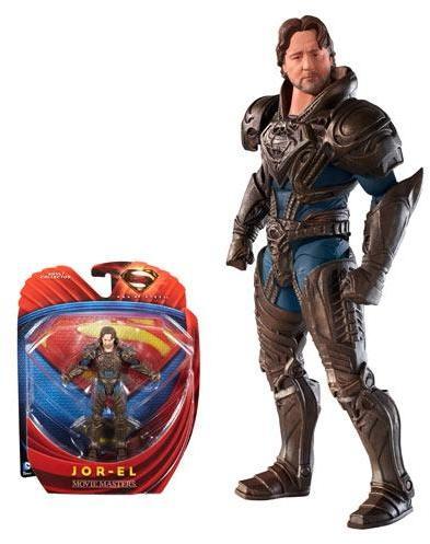 Superman Man of Steel Movie Masters Jor-El Action Figure