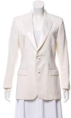 Versace Casual Peaked-Lapel Blazer