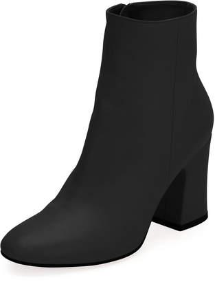 Gianvito Rossi Shelly 85 Napa Leather Block-Heel Boot
