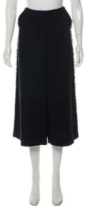 Elizabeth and James Cropped High-Rise Pants