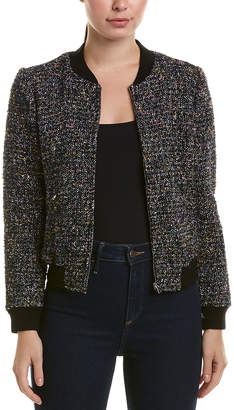 Rebecca Taylor Tweed Bomber Jacket