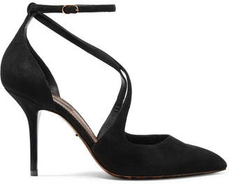 Dolce & Gabbana Bellucci Suede Pumps - Black